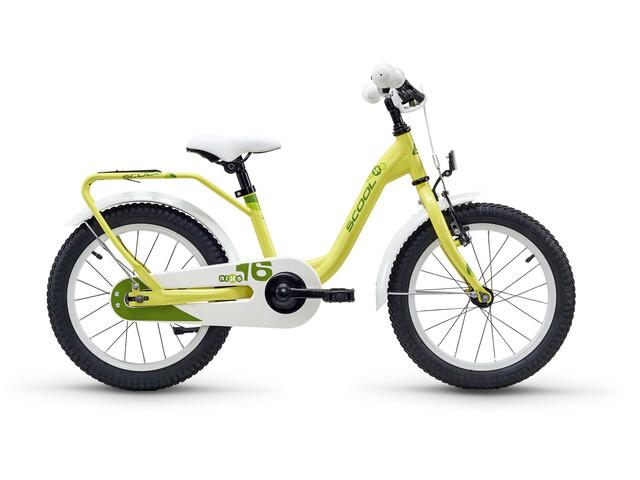 s'cool niXe 16 - Vélo enfant - steel jaune